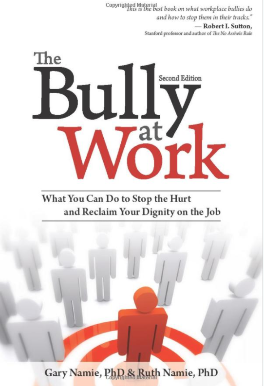 book entitled: the bully at work